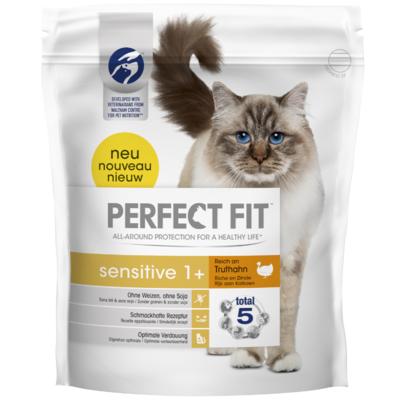 Perfect Fit Kattenvoer droog sensitive kalkoen