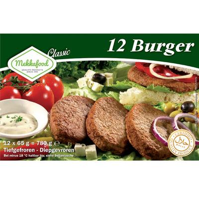 Mekkafood Classic 12 burgers