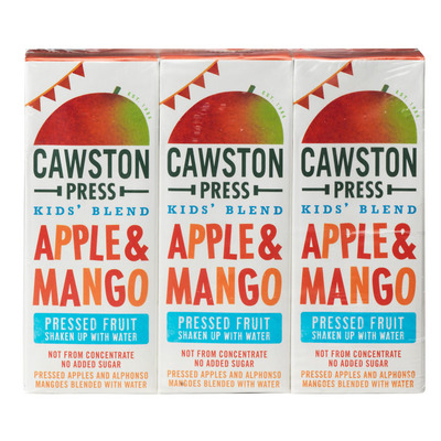 Cawston Press Kids blend apple mango fruit