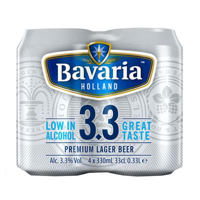 Bavaria 3.3 Premium lager beer