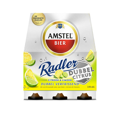Amstel Radler dubbel citrus
