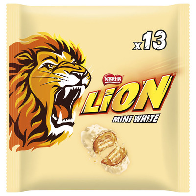 Lion Chocolade white mini
