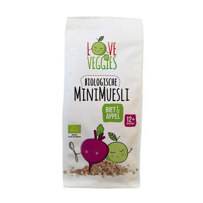 Love my veggies Mini muesli biet-appel 12mnd bio