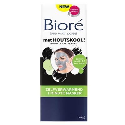 Bioré Zelfverwarmend gezichtsmasker