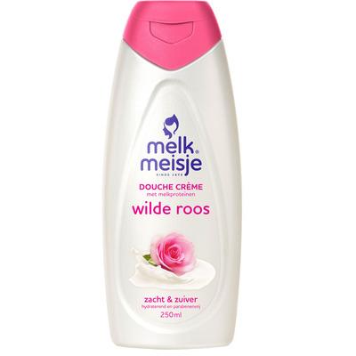 Melkmeisje Douchecrème wilde roos