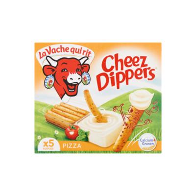 La Vache qui rit Cheez Dippers Pizza Smeerkaas 45+