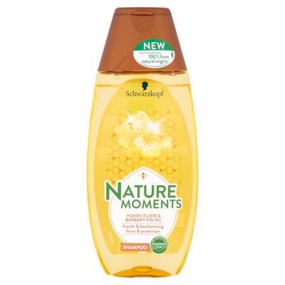 Nature Moments Shampoo honey elixir & barbary