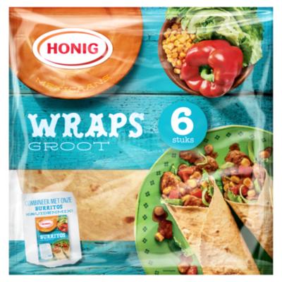 Honig Wraps 15% corn