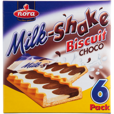 Nora Milkshake biscuit choco