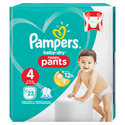 Pampers Baby dry pants maxi mt4