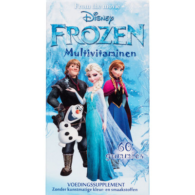 Disney Kinder multivitaminen Frozen