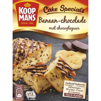 Koopmans Cake specials banaan chocolade glazuur