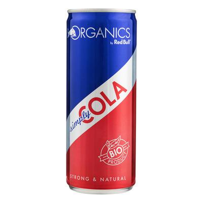 Red Bull Organic simply cola