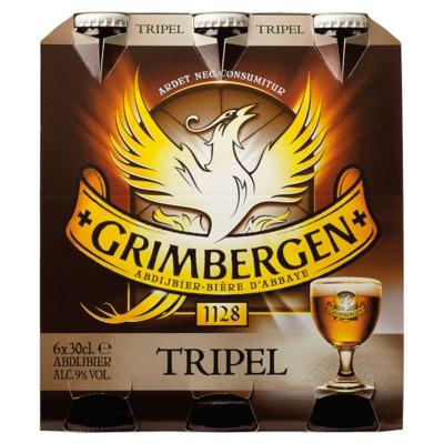 Grimbergen tripel 6-pack incl. €0,60 statiegeld