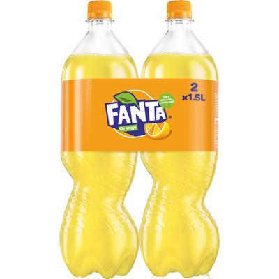 Fanta Orange 2-pack