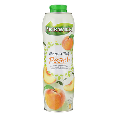 Pickwick Green tea peach siroop