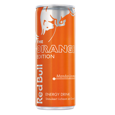Red Bull The orange edition energy drink