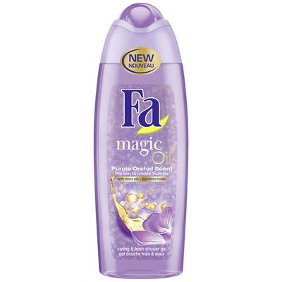 Fa Showergel magic oil purple orchid