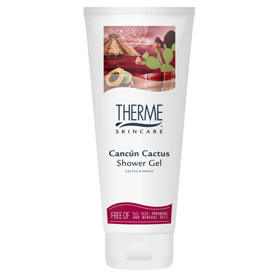Therme Showergel cancun cactus