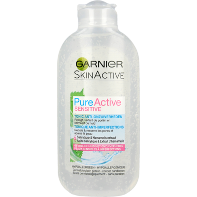 Skin Active Pure Active Sensitive Tonic