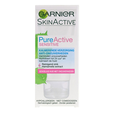 Skin Naturals Pure active sensitive moisturizing