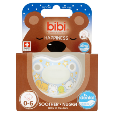 Bibi Speen glow in the dark 0-6 maand