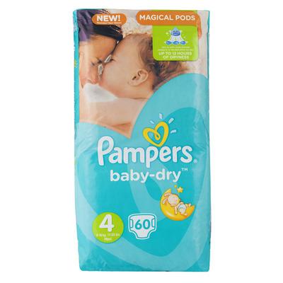 Pampers Baby-dry luiers maat 4 (maxi) 7-18kg