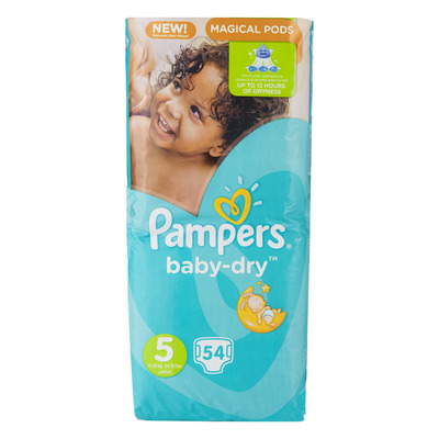 Pampers Baby-dry luiers maat 5 (junior) 11-25kg