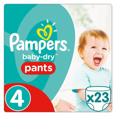 Pampers Baby-dry pants maat 4