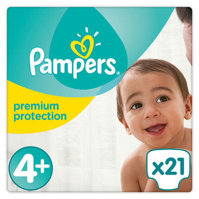 Pampers Premium protection maat 4+