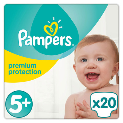 Pampers Premium protection maat 5+