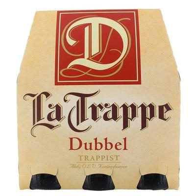 La Trappe  Speciaalbier Trappist Dubbel Fles 6X30 Cl