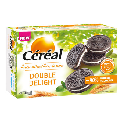 Cereal Double delight suikerbewust