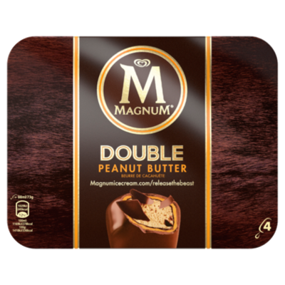 Ola Magnum double peanutbutter 4st
