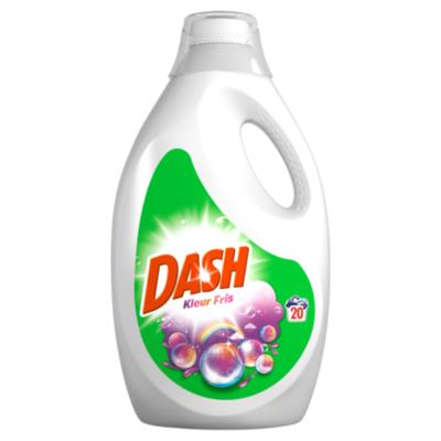 Dash Wasmiddel vloeibaar kleur