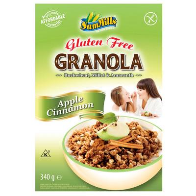 SamMills Granola appel-kaneel glutenvrij