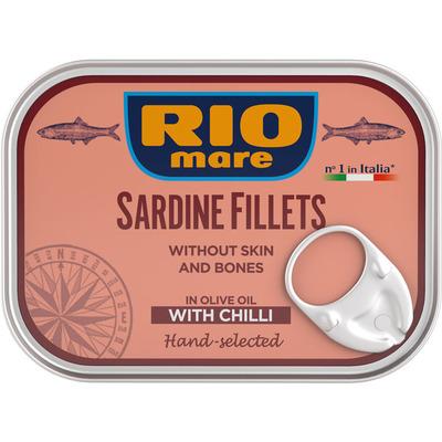 Rio Mare Sardine filets peperoncino
