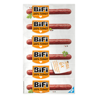 Bifi 100% kalkoen 6-pack