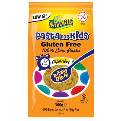 SamMills Pasta alfabet voor kinderen glutenvrij