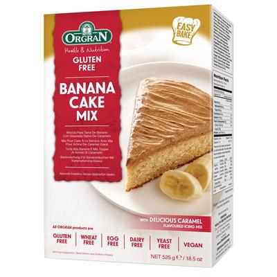 Orgran Banana cake mix glutenvrij