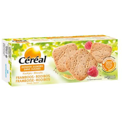 Cereal Koek framboos & rooibos suikervrij