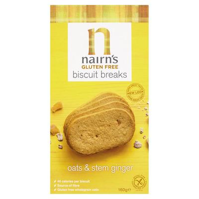 Nairn's Biscuit breaks oats ginger glutenvrij