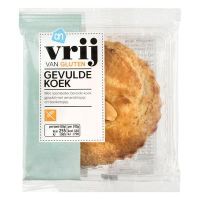 Huismerk Vrij van gluten gevulde koek