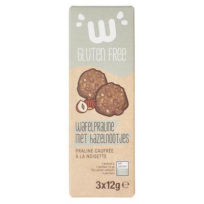 Waffi Gluten Free Wafelpraline met hazelnootjes