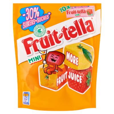 Fruittella Mini Summerfruits -30% suiker