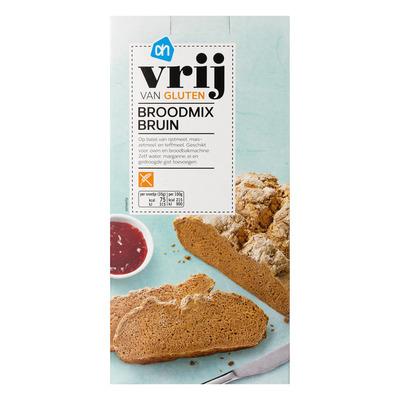 AH Vrij van gluten broodmix bruin