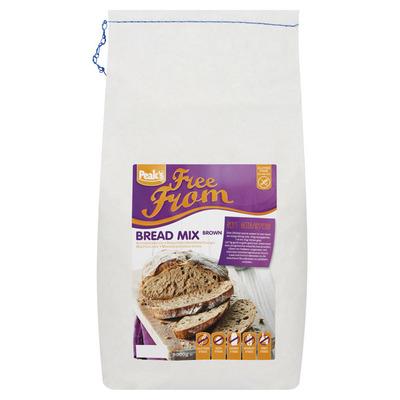 Peak's Broodmix bruin glutenvrij