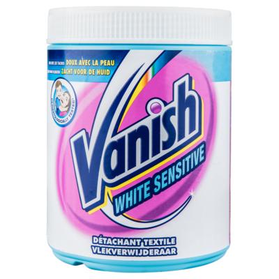 Vanish Sensitive white