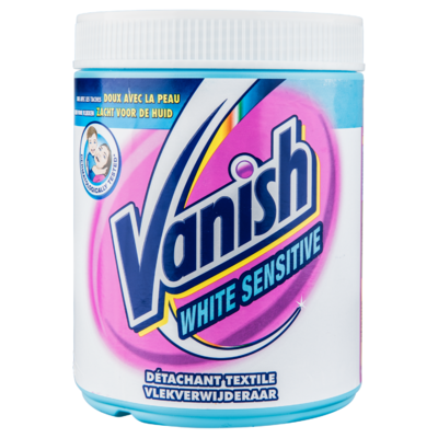 Vanish Sensitive white