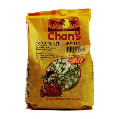 Chan's Groene Spliterwten